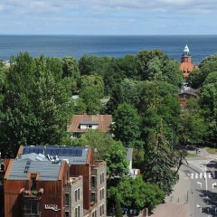 Отель Baltica Residence пляж