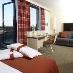 Отель Holiday Inn Express Toulouse Airport Франция, Бланьяк - отзывы, цены и фото номеров - забронировать отель Holiday Inn Express Toulouse Airport онлайн комната для гостей фото 3