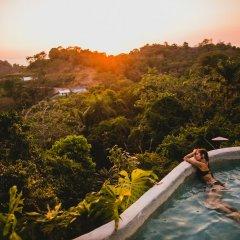 Отель Gaia Hotel And Reserve - Adults Only Коста-Рика, Кепос - отзывы, цены и фото номеров - забронировать отель Gaia Hotel And Reserve - Adults Only онлайн бассейн фото 3