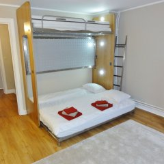 Отель Train Flat Бельгия, Брюссель - 1 отзыв об отеле, цены и фото номеров - забронировать отель Train Flat онлайн комната для гостей фото 3