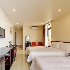 Отель Hoi An Ivy Hotel Вьетнам, Хойан - отзывы, цены и фото номеров - забронировать отель Hoi An Ivy Hotel онлайн комната для гостей фото 4