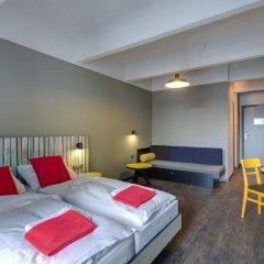 Отель Meininger Brussels City Center Брюссель комната для гостей фото 5