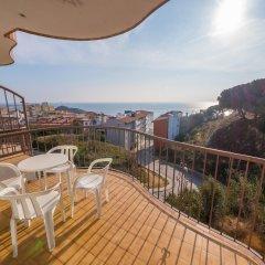 Отель Apartaments AR Muntanya Mar Испания, Бланес - отзывы, цены и фото номеров - забронировать отель Apartaments AR Muntanya Mar онлайн балкон