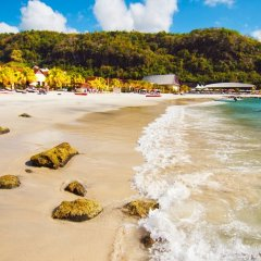 Отель Buccament Bay Resort - Все включено Остров Бекия пляж