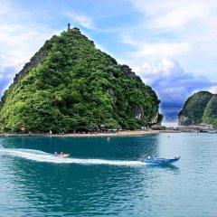Отель Paradise Elegance Cruise Halong пляж
