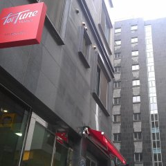Fortune Hostel Jongno городской автобус
