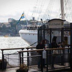 Отель STF af Chapman & Skeppsholmen Швеция, Стокгольм - 1 отзыв об отеле, цены и фото номеров - забронировать отель STF af Chapman & Skeppsholmen онлайн приотельная территория