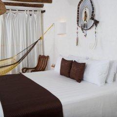 Отель Beachfront Hotel La Palapa - Adults Only Мексика, Остров Ольбокс - отзывы, цены и фото номеров - забронировать отель Beachfront Hotel La Palapa - Adults Only онлайн комната для гостей фото 4