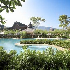 Отель Shangri-La's Rasa Sayang Resort and Spa, Penang Малайзия, Пенанг - отзывы, цены и фото номеров - забронировать отель Shangri-La's Rasa Sayang Resort and Spa, Penang онлайн бассейн фото 3