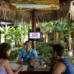 Отель Maitai Polynesia Французская Полинезия, Бора-Бора - отзывы, цены и фото номеров - забронировать отель Maitai Polynesia онлайн питание фото 2