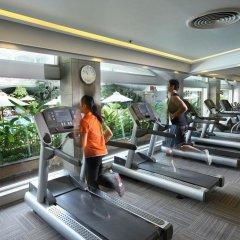 Отель Dusit Thani Bangkok Бангкок фитнесс-зал фото 2