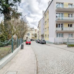Апартаменты Dom&House-Apartment Monte Cassino Family Сопот парковка