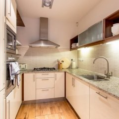 Апартаменты Charlotte Sq. Apartment Private Garden Эдинбург в номере