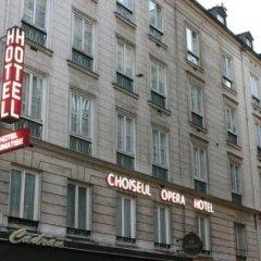 Отель Choiseul Opera Франция, Париж - отзывы, цены и фото номеров - забронировать отель Choiseul Opera онлайн вид на фасад