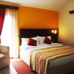City Hotel Tirana комната для гостей
