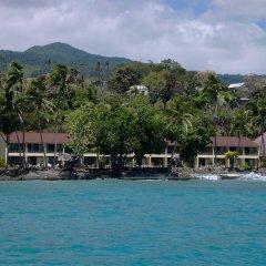 Отель Garden Island Resort Фиджи, Остров Тавеуни - отзывы, цены и фото номеров - забронировать отель Garden Island Resort онлайн пляж