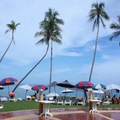 Отель Thai Ayodhya Villas & Spa Hotel Таиланд, Самуи - 1 отзыв об отеле, цены и фото номеров - забронировать отель Thai Ayodhya Villas & Spa Hotel онлайн спортивное сооружение