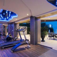 Rodina Beach Hotel фитнесс-зал фото 3