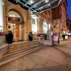Отель Ambassadors Bloomsbury Великобритания, Лондон - отзывы, цены и фото номеров - забронировать отель Ambassadors Bloomsbury онлайн вид на фасад