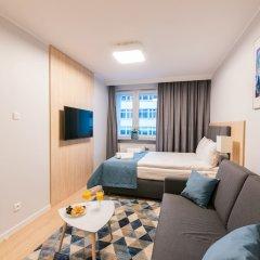 Отель Q17 Apartments Польша, Вроцлав - отзывы, цены и фото номеров - забронировать отель Q17 Apartments онлайн комната для гостей