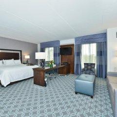 Отель Hampton Inn & Suites Columbia/Southeast-Fort Jackson комната для гостей фото 2