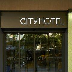 Отель City Салоники вид на фасад