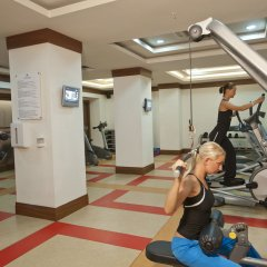 Отель Crystal De Luxe Resort & Spa – All Inclusive фитнесс-зал фото 2