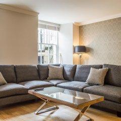 Отель Dreamhouse at Blythswood Apartments Glasgow Великобритания, Глазго - отзывы, цены и фото номеров - забронировать отель Dreamhouse at Blythswood Apartments Glasgow онлайн комната для гостей фото 3