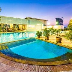 Апартаменты Laemtong Service Apartment бассейн фото 3