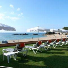 Отель Santa Marta Испания, Льорет-де-Мар - 2 отзыва об отеле, цены и фото номеров - забронировать отель Santa Marta онлайн пляж