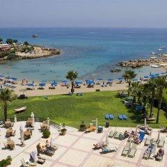 Отель Domniki Hotel Apts Кипр, Протарас - отзывы, цены и фото номеров - забронировать отель Domniki Hotel Apts онлайн пляж