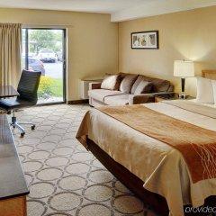 Отель Comfort Inn Ottawa West Kanata Канада, Оттава - отзывы, цены и фото номеров - забронировать отель Comfort Inn Ottawa West Kanata онлайн комната для гостей фото 3