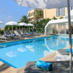 Отель The Originals des Orangers Cannes (ex Inter-Hotel) Франция, Канны - отзывы, цены и фото номеров - забронировать отель The Originals des Orangers Cannes (ex Inter-Hotel) онлайн бассейн фото 3