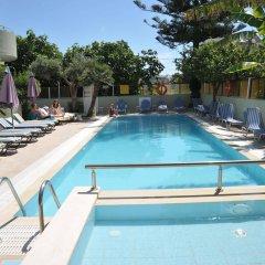 Отель Anseli Hotel Греция, Петалудес - 1 отзыв об отеле, цены и фото номеров - забронировать отель Anseli Hotel онлайн бассейн фото 2