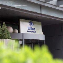 Отель Hilton London Canary Wharf парковка