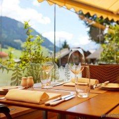 Отель Gstaaderhof Swiss Quality Hotel Швейцария, Гштад - отзывы, цены и фото номеров - забронировать отель Gstaaderhof Swiss Quality Hotel онлайн питание фото 2