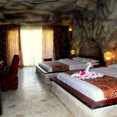 Отель Caves Beach Resort Hurghada - Adults Only - All Inclusive комната для гостей фото 4