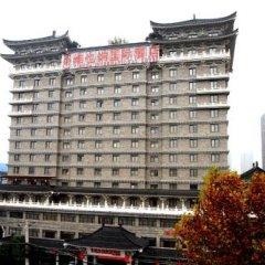 Отель Xian Yanta International Hotel Китай, Сиань - отзывы, цены и фото номеров - забронировать отель Xian Yanta International Hotel онлайн парковка