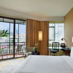 Отель Swissotel Merchant Court Singapore балкон