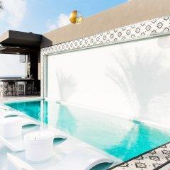 Отель Marquee Playa Hotel Мексика, Плая-дель-Кармен - отзывы, цены и фото номеров - забронировать отель Marquee Playa Hotel онлайн бассейн