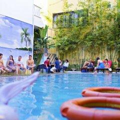 Hai Au Boutique Hotel & Spa бассейн фото 3