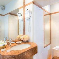 Отель Dauphine Saint Germain Hotel Франция, Париж - отзывы, цены и фото номеров - забронировать отель Dauphine Saint Germain Hotel онлайн ванная