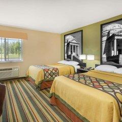 Отель Super 8 by Wyndham Vicksburg комната для гостей фото 2