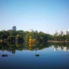 Отель Shenzhen Uniton Hotel Китай, Шэньчжэнь - отзывы, цены и фото номеров - забронировать отель Shenzhen Uniton Hotel онлайн приотельная территория фото 2