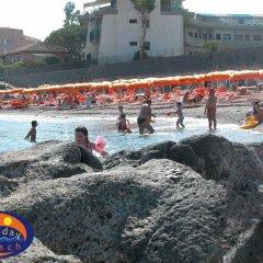 Отель Holiday Sun Lodge Appartamento Vacanze Джардини Наксос спортивное сооружение