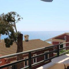 Отель Glyfada Gorgona Apartments Греция, Корфу - отзывы, цены и фото номеров - забронировать отель Glyfada Gorgona Apartments онлайн балкон