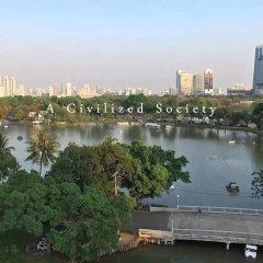 Отель Siam Square House Бангкок приотельная территория фото 2