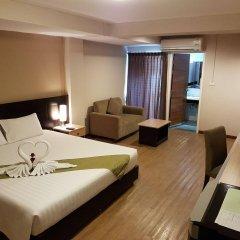 Отель Golden Jade Suvarnabhumi Таиланд, Бангкок - 1 отзыв об отеле, цены и фото номеров - забронировать отель Golden Jade Suvarnabhumi онлайн комната для гостей фото 3