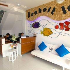 Отель Sea Host Inn Таиланд, Пхукет - отзывы, цены и фото номеров - забронировать отель Sea Host Inn онлайн комната для гостей фото 4