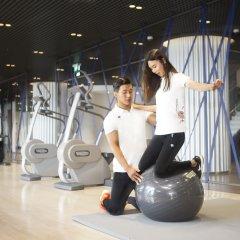 Отель Novotel Ambassador Daegu Южная Корея, Тэгу - отзывы, цены и фото номеров - забронировать отель Novotel Ambassador Daegu онлайн фитнесс-зал фото 4